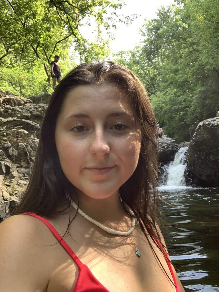Selfie of Joanna.