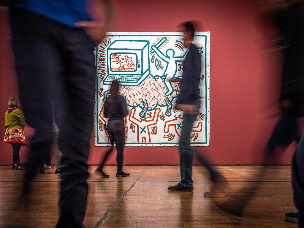 Keith Haring (credit: Heinz Bunse via Creative Commons).