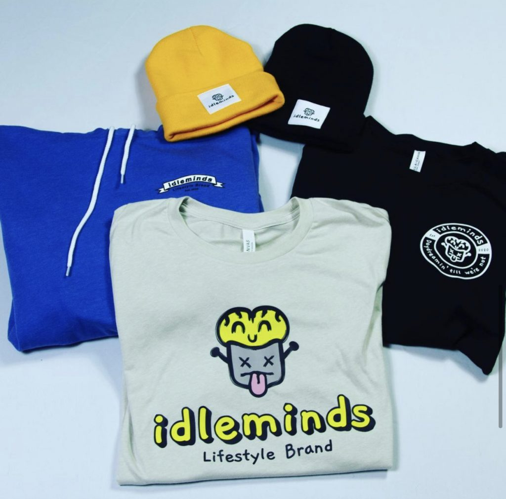 Products from Idleminds Lifestyle Brand.