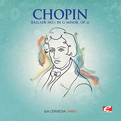 "The Chopin ""Ballade no.1 in g minor Op.23"" album cover."