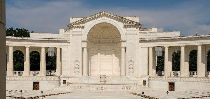 Building at Arlington National Cemetery.