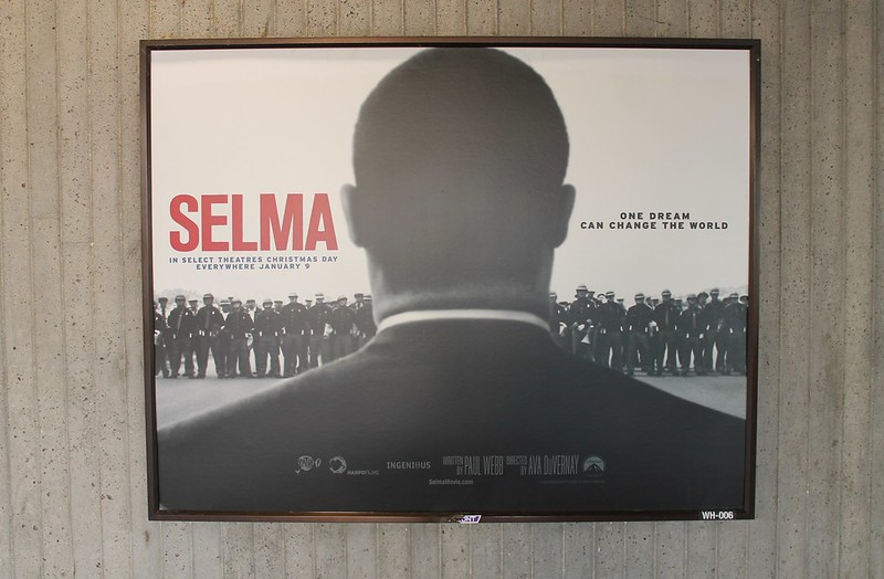 Framed poster of the movie Selma.