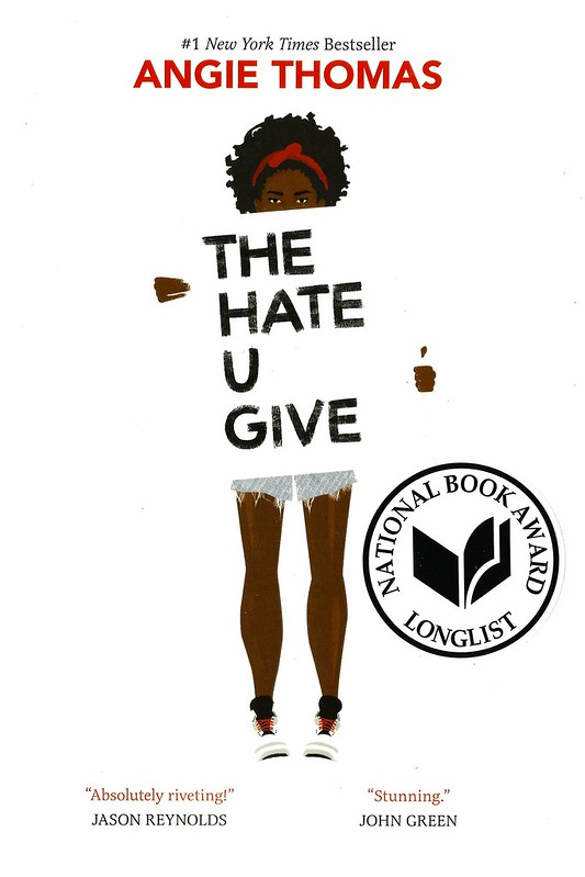 Book cover of The Hate U Give.