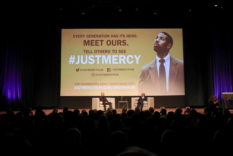 Panel discussion of the film Just Mercy.