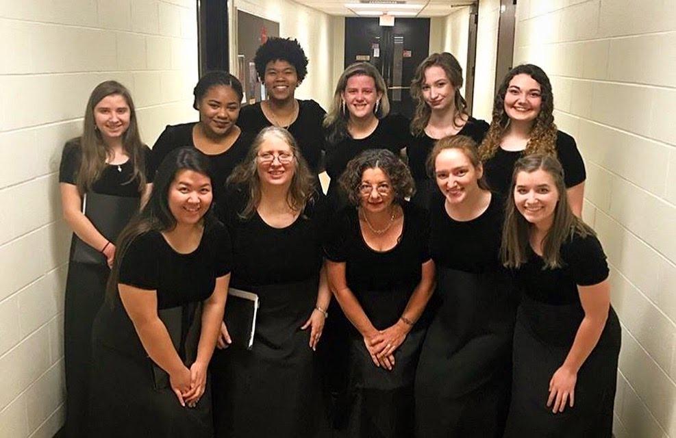Rowan's Womens Choir 2018.