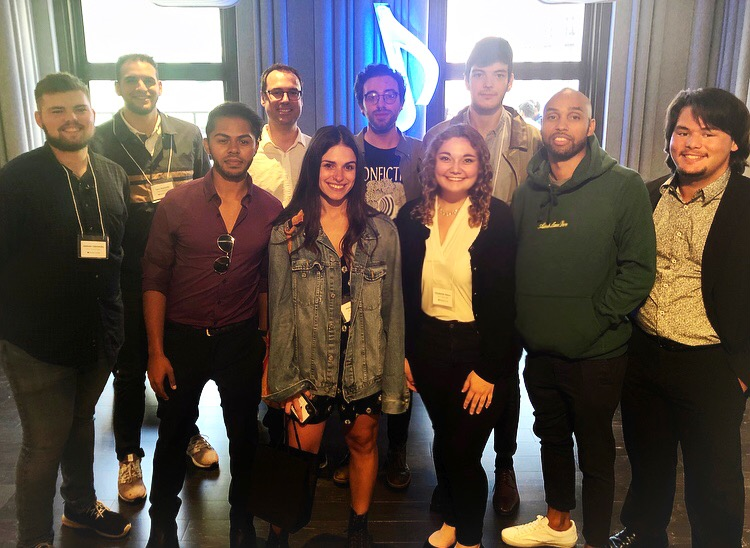 Rowan Music Industry Students Field trip to NYC (October 2019)- ASCAP Foundation & Warner Music Group.