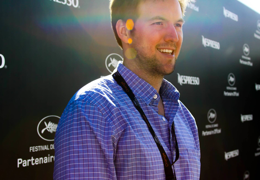 Ryan attends the Cannes Film Festival photo op.