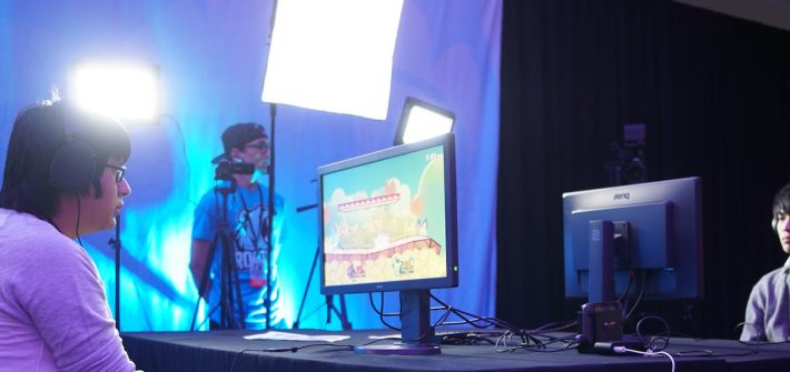 Stock photo of an Esports competition.