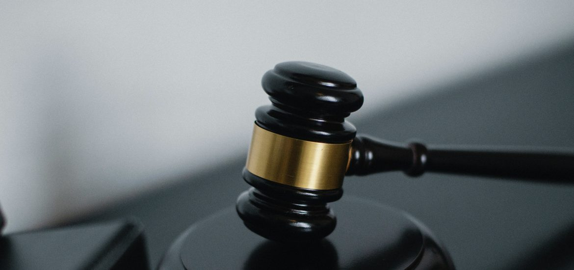 Stock image of a gavel.
