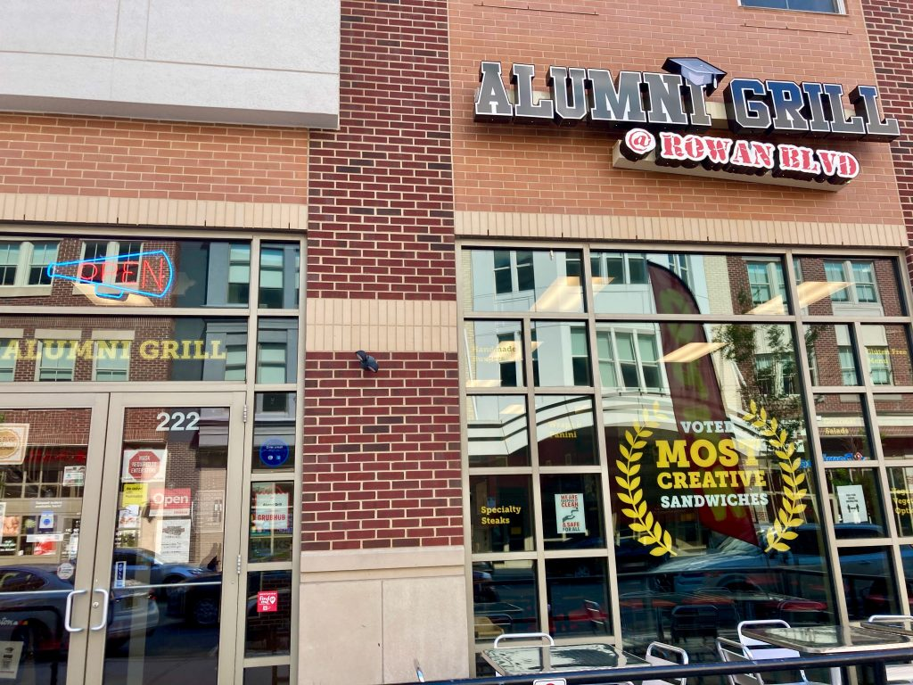 Storefront image of Alumni Grill.