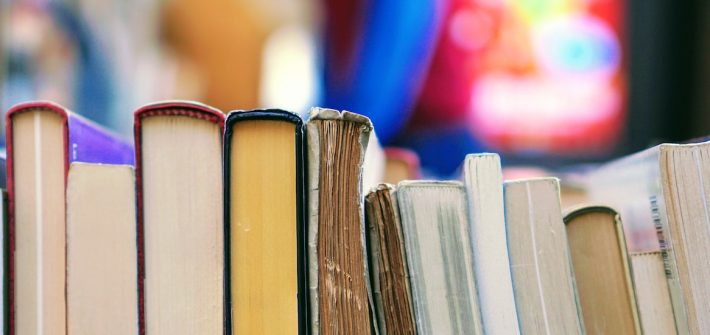 Stock photo of books.