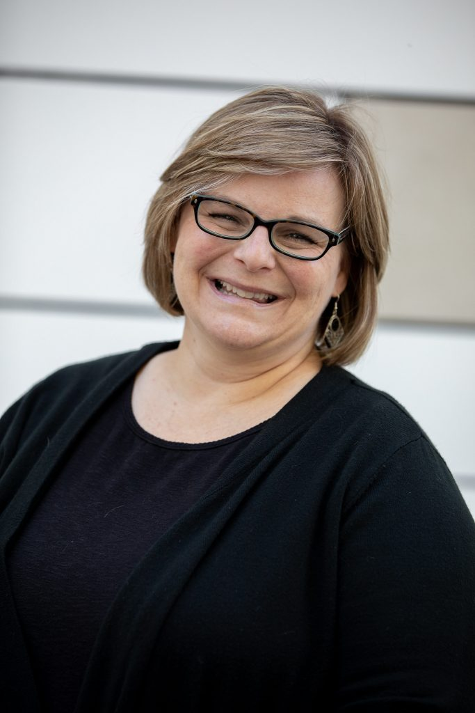 Professor Lisa Fagan, an instructor in the Public Relations and Advertising Department at Rowan.
