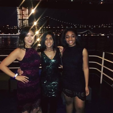 Sena Pottackal on NYU 2018 SPS Spring Cruise with colleagues from NYU SPS Community Service Committee.