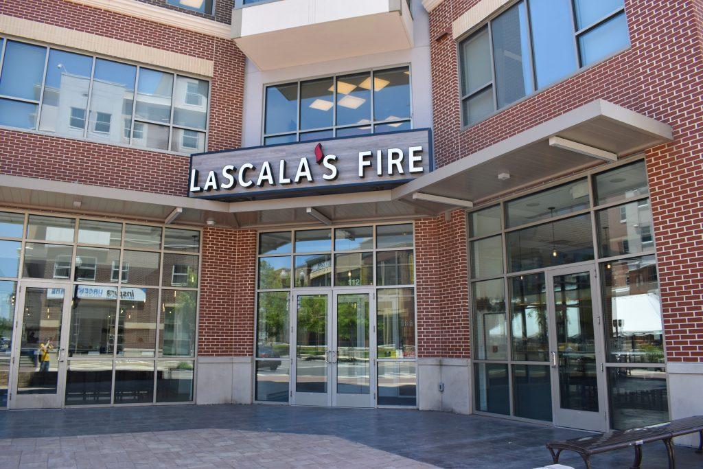 Lascala's Fire on Rowan Boulevard.