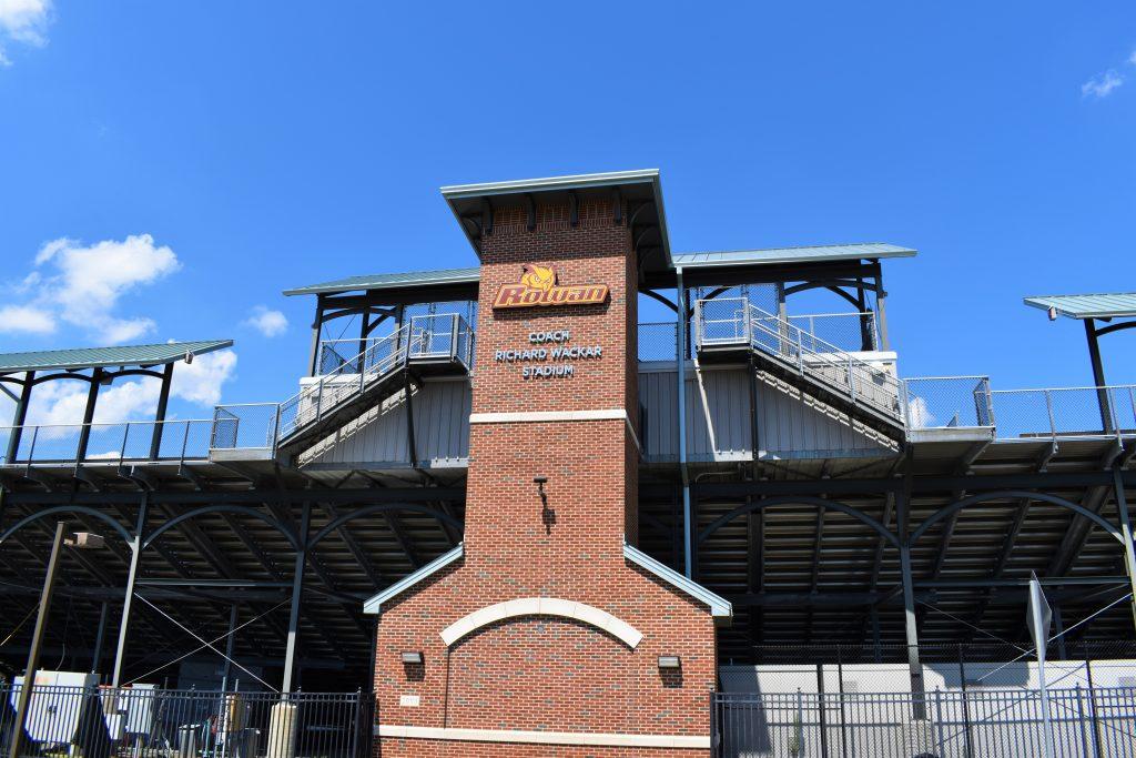 Richard Wackar Stadium where football, lacrosse, field hockey, and track events take place.