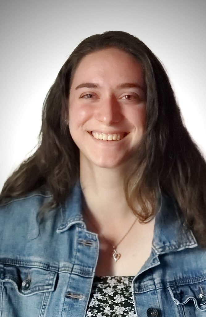 Headshot of Rachel smiling.